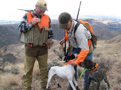 Chukar Hunting in Oregon